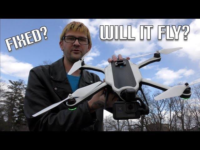 GoPro Karma Drone Crash   Will It Fly Again