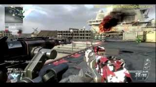 COD BO2 CAPTURE THE FLAG Call of Duty Black Ops 2 CARRIER Walk Through theRadBrad rules xBox 360