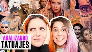 ANALIZANDO TATUAJES DE FAMOSOS | Andrea Compton ft Customizarte