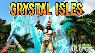 ARK: Survival Evolved - Crystal Isles Map on my NEW Server!