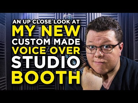My Custom Home Voice Over Booth