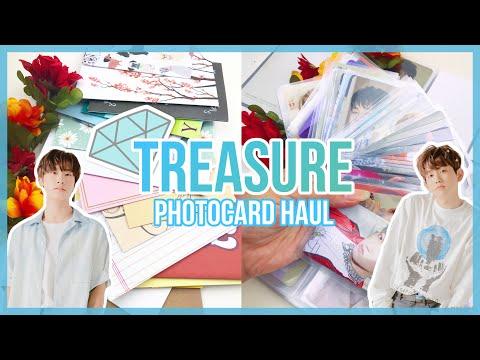 💎 treasure photocard haul   ot12 collector