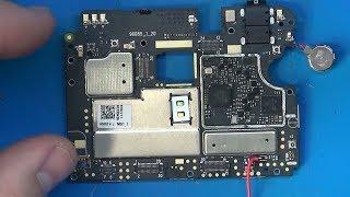 Meizu M3 Note M681Q нет сети и отключается