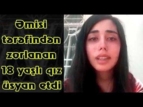 Əmisi tərəfindən zorlanan 18 yaşlı qız üsyan etdi