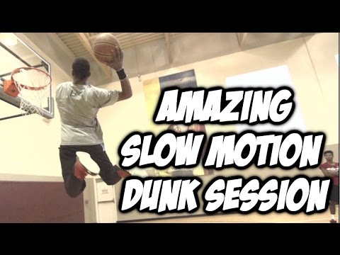 """5'10"""" Sir Issac Ultimate Beyond Slow Motion Dunk Session   #SCtop10"""