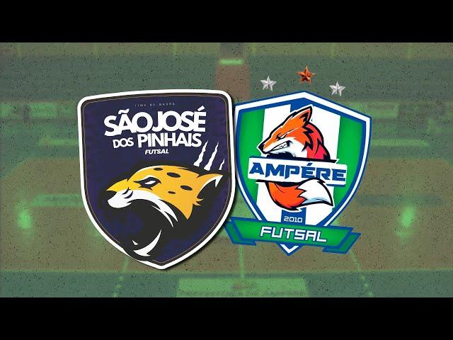SÃO JOSÉ x AMPERE FUTSAL (Série Ouro Campeonato Paranaense de Futsal)