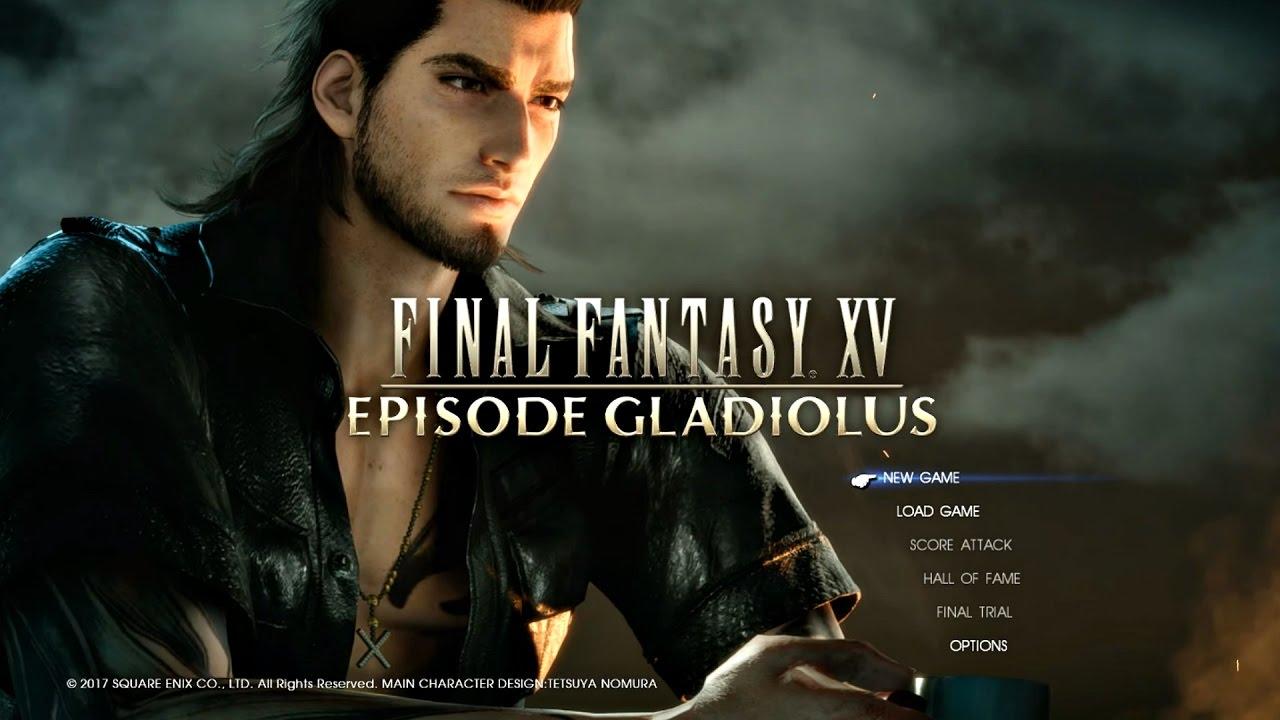 FINAL FANTASY XV Episode Gladio DLC Full Gameplay