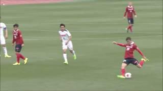 左サイドからのアーリークロスがオウンゴールを誘発し、名古屋が先制に...