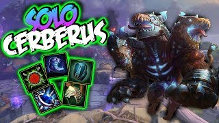 Smite | Cerberus Build And Guide - Thats My Blue Buff!! | Smite Season 5 Gameplay