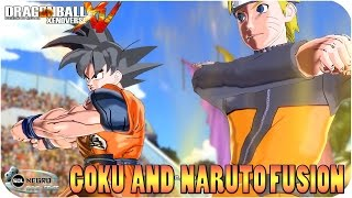 Goku and Naruto Fusion: Goruto VS Sasuke, Frieza and Shenron - Dragon Ball Xenoverse mod