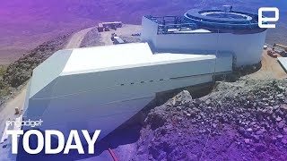 Take a sneak peek at the nearly-complete Large Synoptic Survey Telescope | Engadget Today