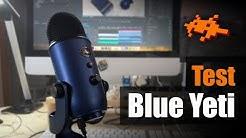 Unboxing & Test Blue Yeti Mikrofon [Check, deutsch]
