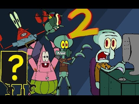 Spongebob FIVE NIGHTS AT KRUSTY KRAB 2