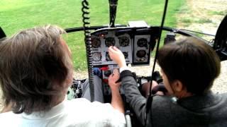 Chek List complète pour le décollage en Alouette II