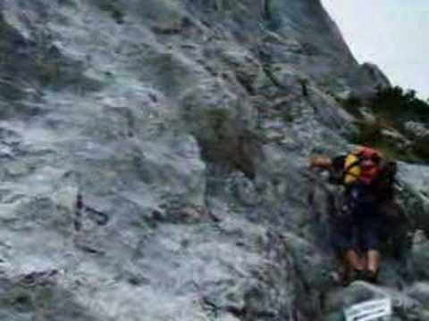 Pidinger Klettersteig : Pidinger klettersteig youtube