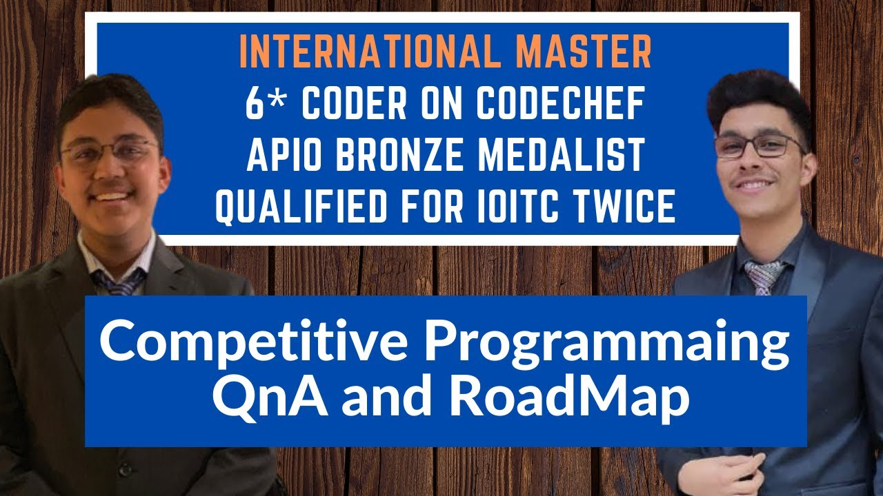 Competitive Programming QnA with Socho | IM on Codeforces | 6⭐ on CodeChef