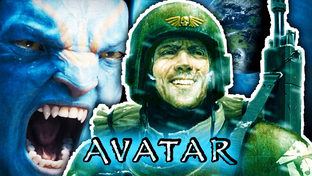 AVATAR but HUMANS are the GOOD GUYS (WH40k)