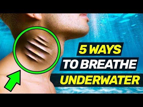 5 INSANE WAYS TO BREATHE UNDERWATER