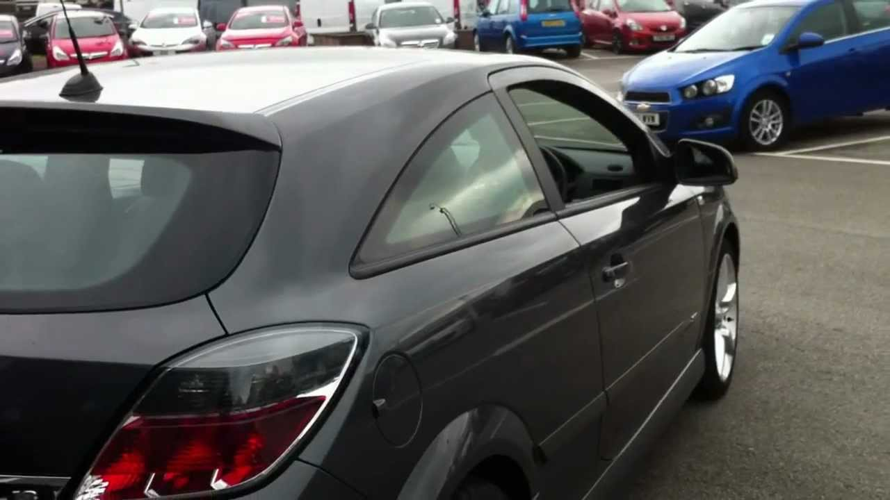 2009 59 Plate Vauxhall Astra 1 8 16v Sri 3dr Sport Hatch Auto - Grey