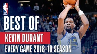 Download Kevin Durant's Best Play From Every Game Of The 2018-2019 Season Mp3 and Videos