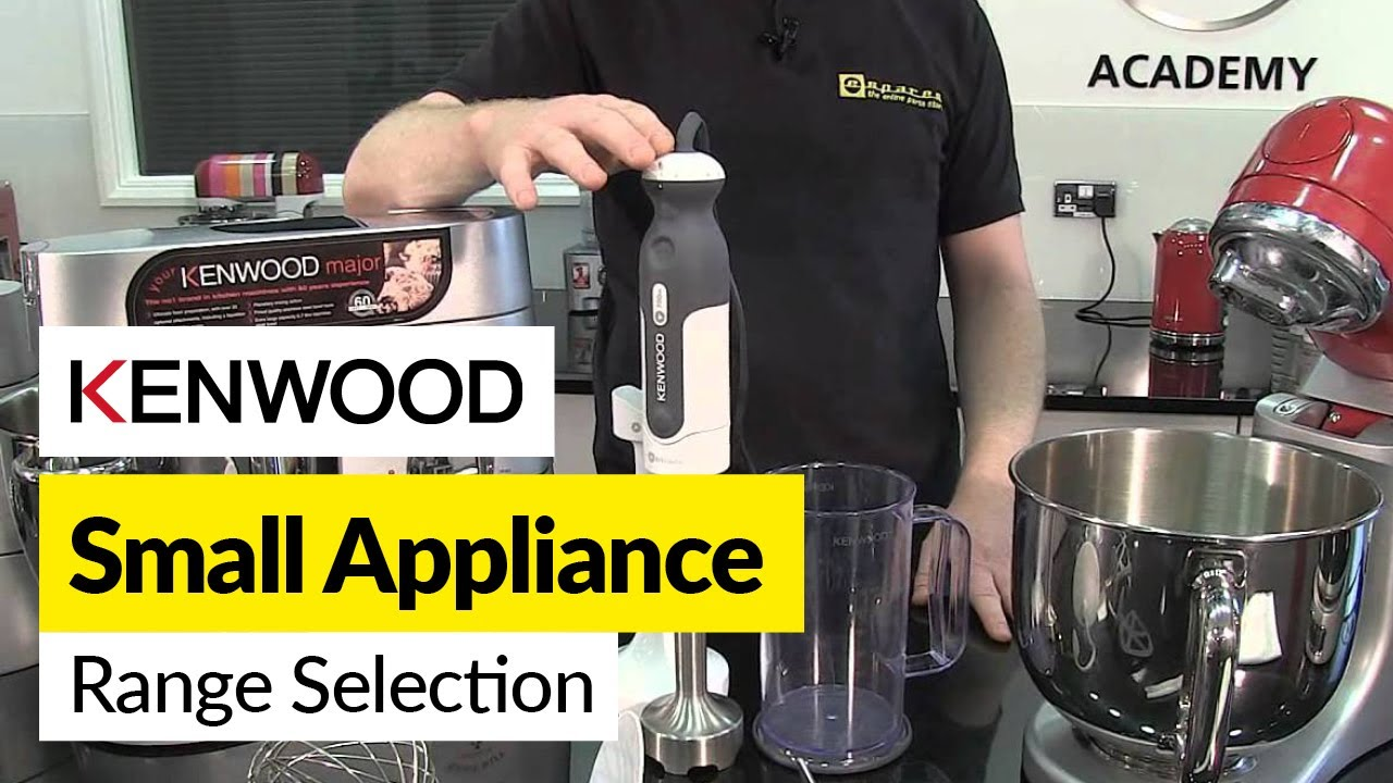 Small Kitchen Appliances Kenwood Youtube