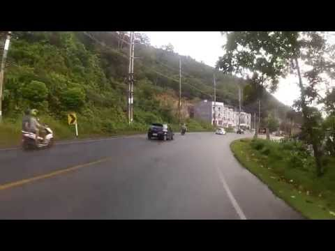 Bike Trip From Laem Sing Beach to Phuket city - Thailand