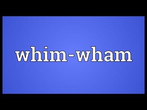 Header of whim-wham