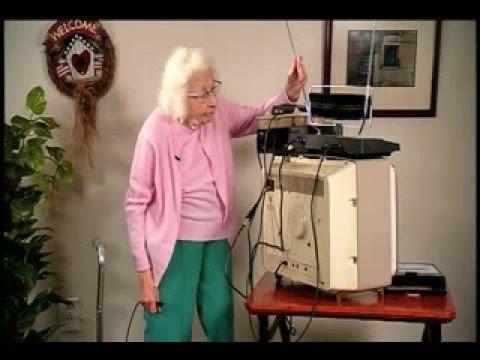 Digital TV transition (for the Elderly)