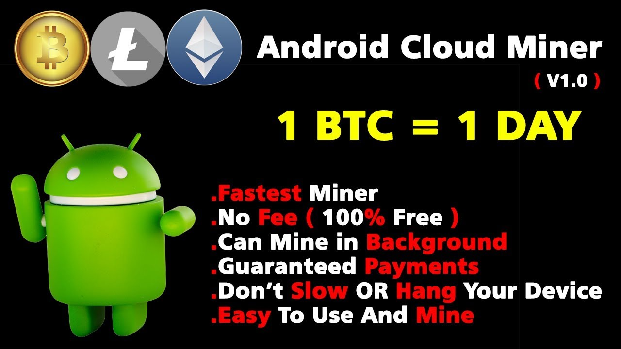 Free Android Cloud Miner|Fastest|No Investment| - YouTube