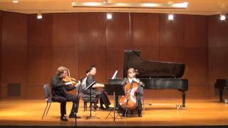 Mendelssohn Trio #1 in D minor; Finale, Allegro assai appassionato