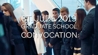 Convocation: St. Jude Graduate School of Biomedical Sciences Welcomes 2019 Class