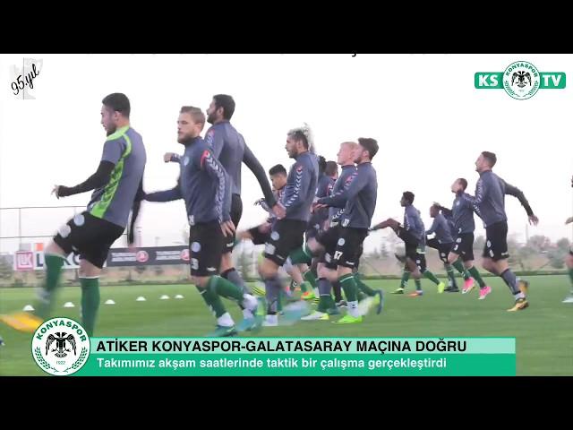 Takımımızda Galatasaray maçı hazırlıklarında sona gelindi