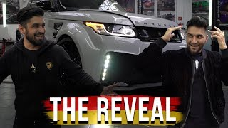ApoRed Range Rover Reveal! Germany Part 3
