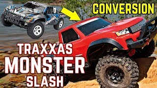 Traxxas Monster Slash Conversion.  Easy, Fun and Affordable