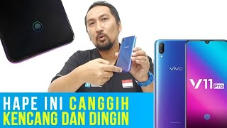 Smartphone Canggih, Dingin, Fingerprint dlm Layar Pertama di Indonesia: Review Lengkap Vivo V11 Pro