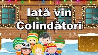 Iata vin colindatori - Cantec de iarna pentru copii CanteceleCopii.ro
