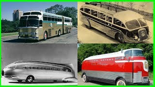 Rare and Vintage Buses Compilation 2017.