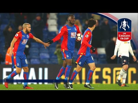 Crystal Palace 2-1 Bolton Wanderers (Replay) Emirates FA Cup 2016/17 (R3)   Goals & Highlights