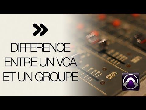 Contrôleur VCA et groupe (bus)
