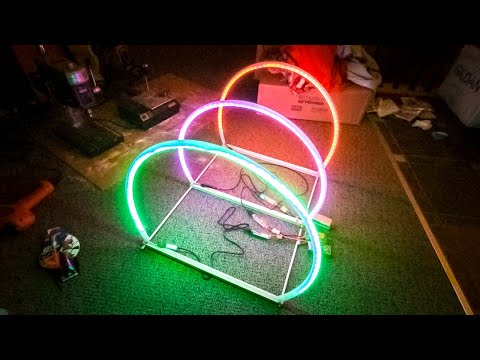 DIY Cheap Micro Drone LED Race Gates | Part 1 - Wood Base