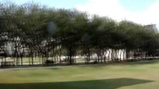 Houston water wall