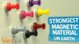 UltraMagnets 12-pack Pushpin Magnets