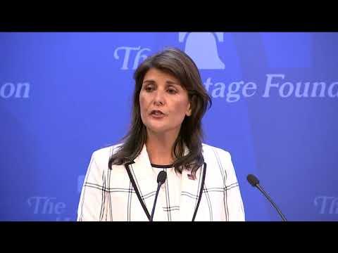 Nikki Haley Blasts UN Human Rights Council