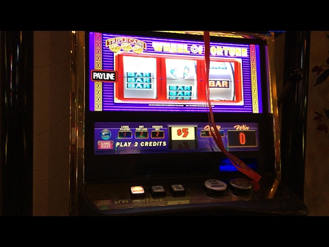 $5 Wheel Of Fortune Slot Pull - HIGH LIMIT
