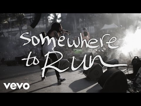 Krewella - Somewhere to Run (Live Lyric Video)