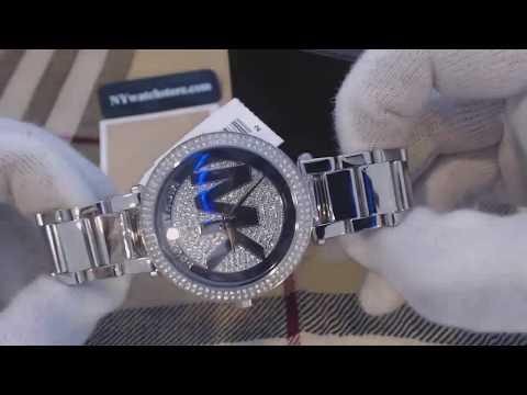 Women's Michael Kors Parker Stainless Steel Glitz Watch
