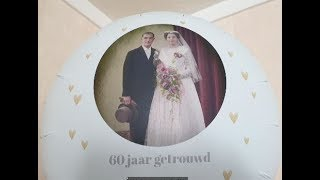 Echtpaar Wolf Last 60 jaar getrouwd