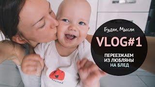 VLOG #1 переезжаем из Любляны на Блед | 26.03 #1 Словения