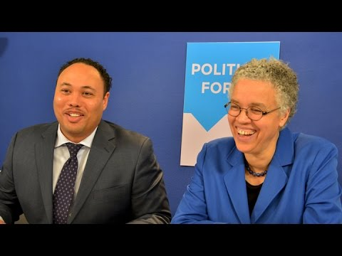 Toni Preckwinkle | Political Forum on CAN TV