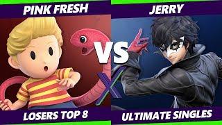 Smash Ultimate Tournament - VGBC | Pink Fresh (Lucas) Vs. Jerry (Joker) S@X 332 SSBU Losers Top 8
